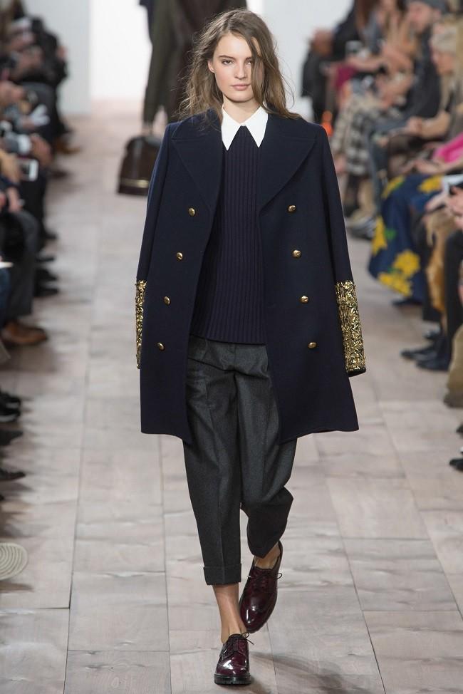 модные тенденции осень зима 2015 2016 бушлаты michael kors