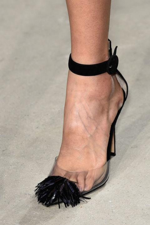 модная обувь осень зима 2016 2017 прозрачная обувь