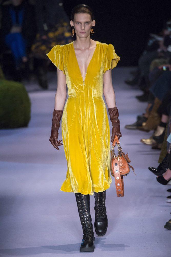 Altuzarra fall 2017 - модный бархат