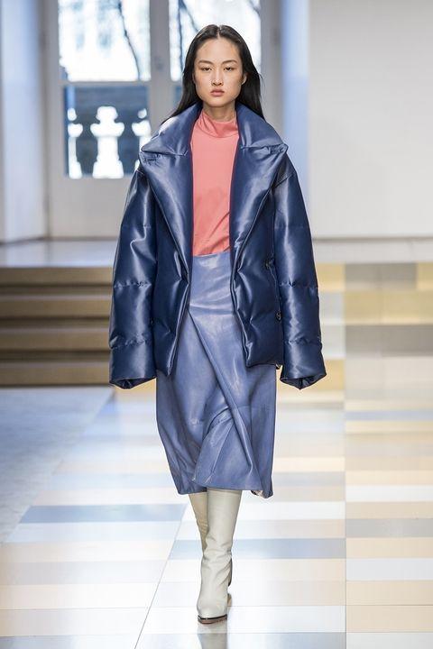Jil Sander fall 2017 - модные пуховики
