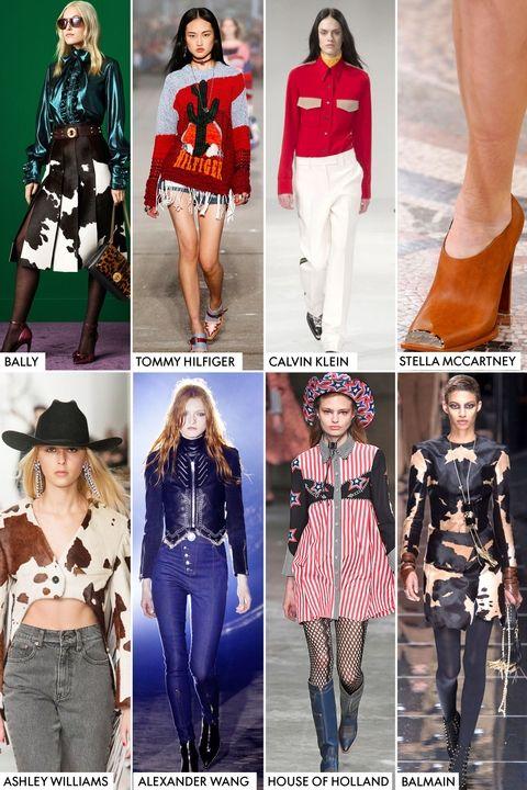 Модные тренды осень-зима 2017-2018 - ковбойский стиль