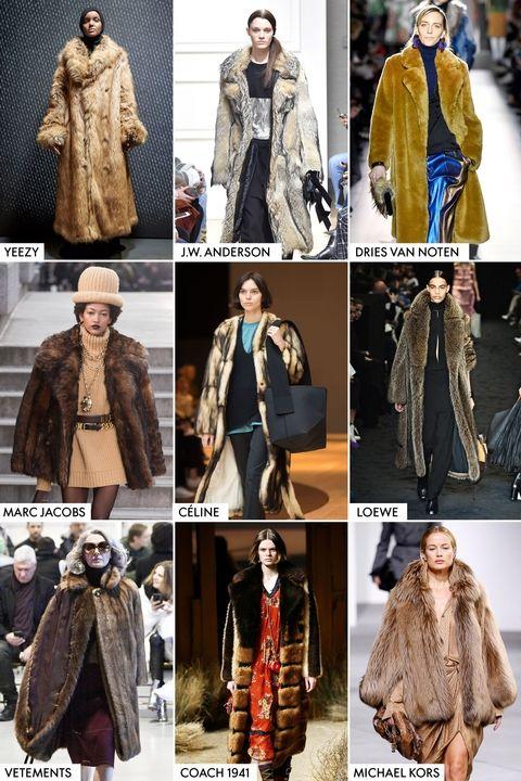 Модные тренды осень-зима 2017-2018 - шубы