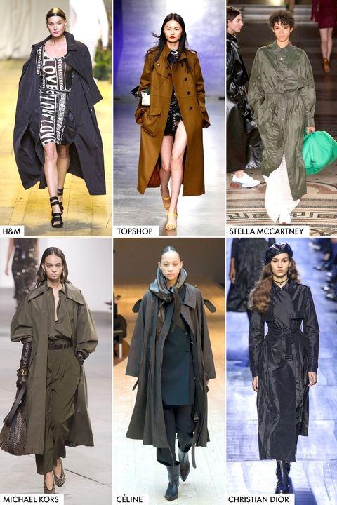 Модные тенденции осень-зима 2017-2018 - тренчи