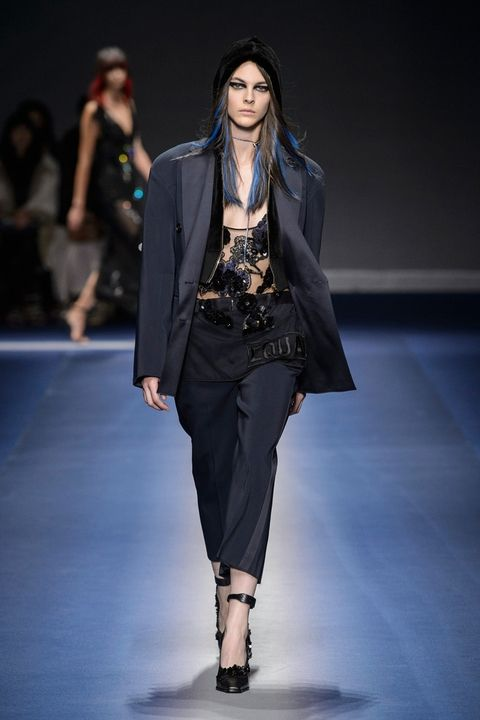 Versace fall 2017 - деловой стиль