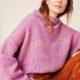 Must have месяца — вязаный свитер.