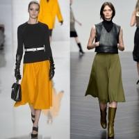 Модные юбки осень-зима 2013-2014