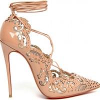 Christian Louboutin для Marchesa обувь весна 2014