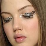 3d макияж Шанель осень-зима 2013-2014
