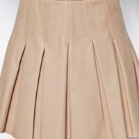 Кожаная юбка — где купить, с чем носить