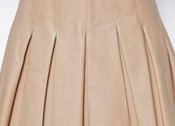 Самые удачные сочетания кожаной юбки
