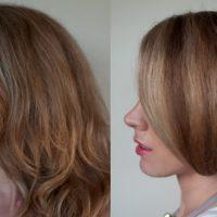 Прическа боб каре и каре из длинных волос на один день