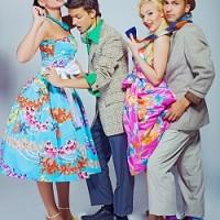 Платья в стиле стиляг — история,фото и где купить